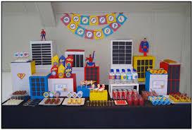 Superman Birthday Party Decoration Ideas Superman Party A Party Studio