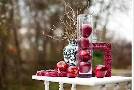 creative idea orange apples natural christmas tree decorations