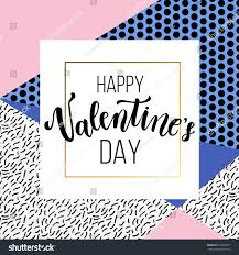 happy valentines day greeting card romantic stock vector 563900557