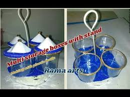 Plastic Bottles And Liquid Storage - multi storage boxes making with plastic bottle useful for multi