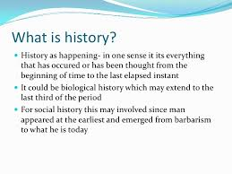 the nature of history and historical research