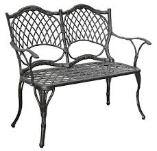 White Wrought Iron Patio Furniture by Home Decor Decor Depot Black Iron Bench Dotty Gifts Picture On