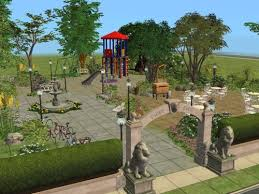 Sims 3 Garden Ideas History Lover S Simblr How To Landscape Build Parks In The