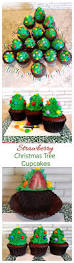 christmas tree cupcakes always the holidays
