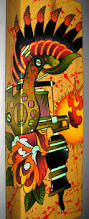 tattoo machine rose painting canvas artwork my artwork