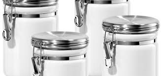 oggi kitchen canisters black and white kitchen canisters thirdbio