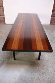 milo baughman dining table milo baughman mixed wood dining table for directional for sale at