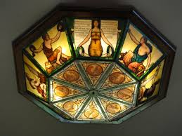 Stained Glass Light Fixtures Dining Room Stained Glass On The Road With Jim And