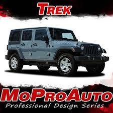 jeep wrangler ads trek jeep wrangler side door fender to fender vinyl graphics