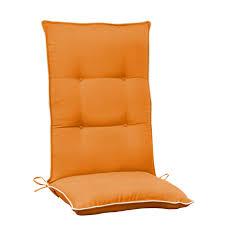 Sunbrella Outdoor Cushion Exterior The Cozy High Back Patio Chair Cushions Designescent