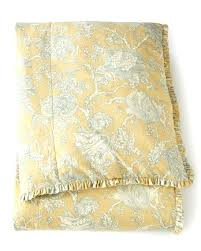 Blue And Yellow Duvet Cover Yellow Toile Duvet Cover Blue And Yellow Toile Bedding Sets Bird