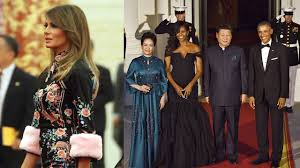 obama dresses melania obama s china visit dresses send totally