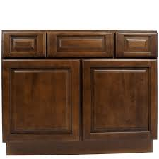 42 Bathroom Vanity Cabinet by 42 Inch Dark Maple Juniper Chestnut Bathroom Vanity Cabinet
