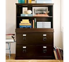 bookcase with file cabinet bedford lateral file cabinet pottery barn