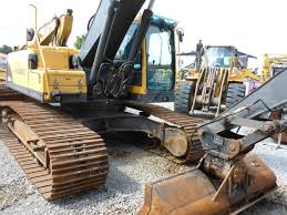 volvo ec290blr used tracked excavator for sale
