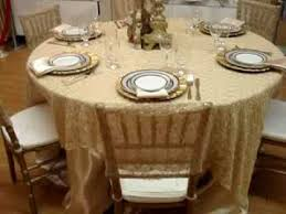 Table Cover Rentals by Party Rentals Tablecloth Chiavari Chair Cover Golden Rim China