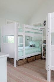 2 Bunk Beds Room Vaulted Ceiling Design Ideas
