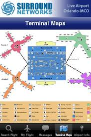 mco terminal map live airport orlando mco airport lite on the app store
