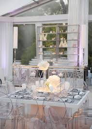 reception décor photos white clear u0026 grey square reception