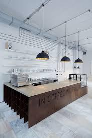 idée pour décorer un bar avec un style industriel cafes