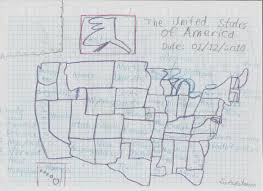 Map If The Usa by Hand Drawn Map Of The Usa By Sonamymovie On Deviantart