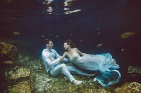 underwater trash the dress photography california