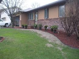 garden outstanding landscaping designs for ranch style homes