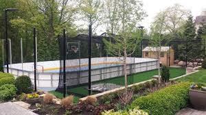 Basement Batting Cage by Residential Dek Hockey Sportprosusa