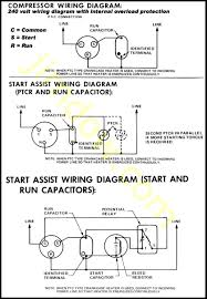compressor wiring diagram single phase compressor wiring diagrams
