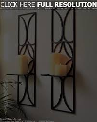 Wall Mounted Candle Sconce Kadoka Candle Wall Sconce Contemporary Circles Candles Decoration