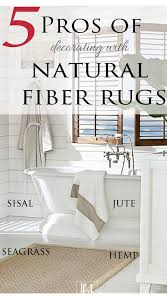 Jute Bathroom Rug The Pros And Cons Of Fiber Rugs