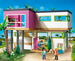amazon de playmobil 5574 luxusvilla city life