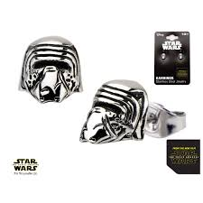 wars earrings wars episode 7 kylo ren 3d stud earrings