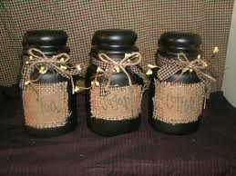 primitive kitchen canisters canister home primitives country and craft