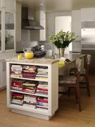 kitchen style island base bookshelf open shelves simple design