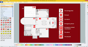 fire extinguisher symbol floor plan fire exit floor plan template amazing emergency sample win charvoo