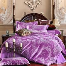 Best Fabric For Bed Sheets Online Buy Wholesale Purple Satin Sheets From China Purple Satin