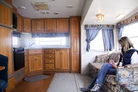 Camper Interiors Fabulous 5th Wheel Camper Makeover