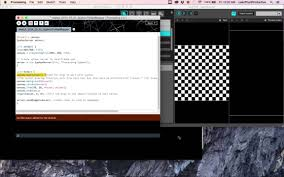 how to processing sketch to madmapper using syphon youtube