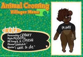 Animal Crossing Villager Meme - animal crossing villager meme by beedalee art on deviantart