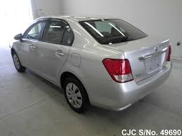2013 toyota corolla axio silver for sale stock no 49690