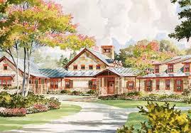 Southern Living Plans Cedar Creek Insite Architecture Inc Southern Living House Plans
