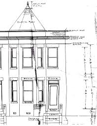 the house history man dc building permits the rare original dc building permits the rare original facade and floor plans