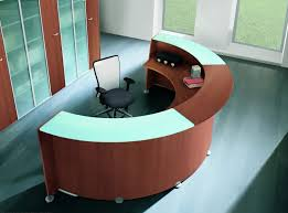 Circular Reception Desk by X Time Reception Desk Composition 1 Online Reality