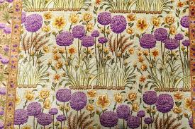 Purple Flower Rug Beautiful Silk Floral Vintage Tabriz Persian Rug 51114 By Nazmiyal