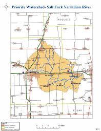 Illinois On The Map by Salt Fork Vermilion River Illinois Basin Illinois Cbmp