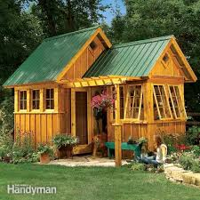 how to build a shed with a front porch family handyman