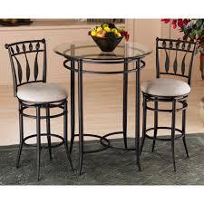 hillsdale furniture hudson 26 in black swivel cushioned bar stool