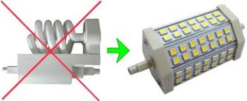 led lighting retrofit replacement direct led halogen r7s