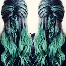 best way to blend gray hair into brown hair mint and grey hair best hair styles color and cuts pinterest